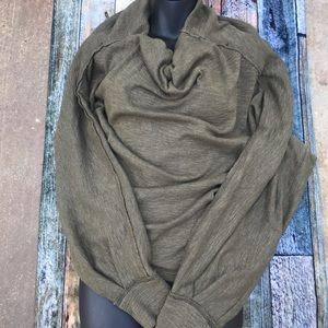 Free People Tops - Olive Green Top Free People